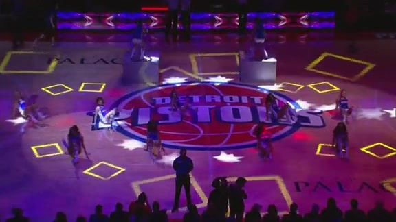 Pistons Entertainment: Fergalicious