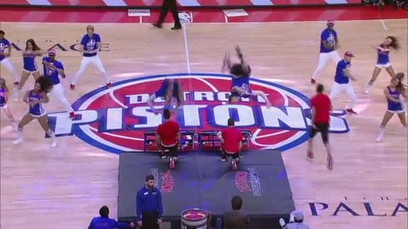 Pistons Entertainment: I Love It