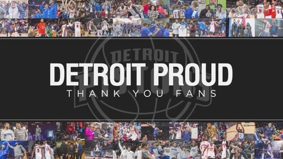 #Detroit Proud: Thank You, Fans!