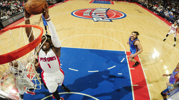 Pistons Hits: Top 10 Dunks of the Year