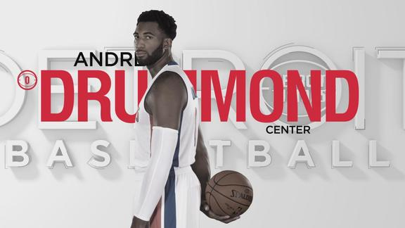 2015-16 Pistons Profile: Andre Drummond