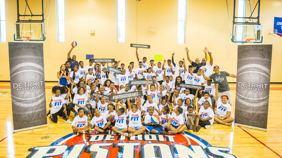 Come Together Chronicles: S.A.Y. Detroit Pistons Fit Clinic