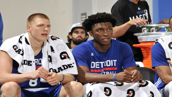 Pistons Hits: 2016 Summer League Recap