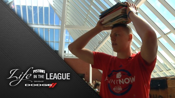 Life in the League, Driven by Dodge: Henry Ellenson at Reading Room Makeover