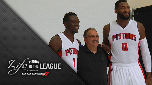 Life in the League, Driven by Dodge: Media Day