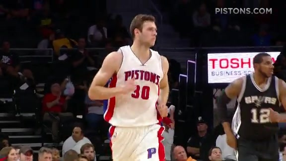 Pistons Playback: Pistons vs Spurs