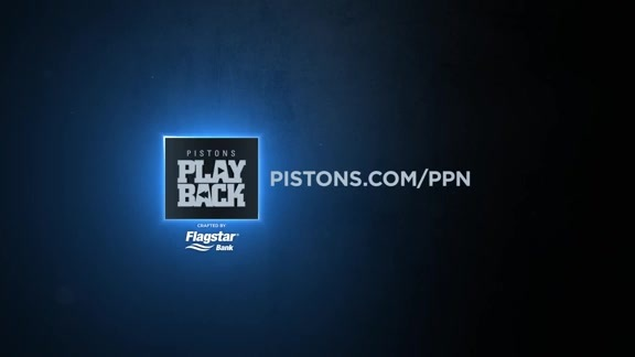 Pistons Playback, crafted by Flagstar: Pistons vs. Hawks