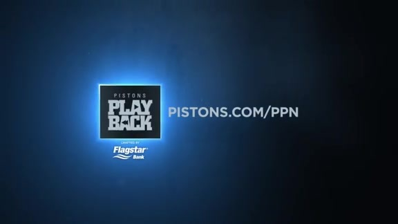 Pistons Playback, crafted by Flagstar: Pistons vs. Pacers