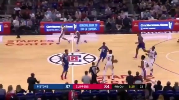 Pistons Playback, crafted by Flagstar: Pistons at Clippers