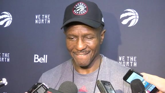 Raptors Training Camp: Dwane Casey - October 3, 2015