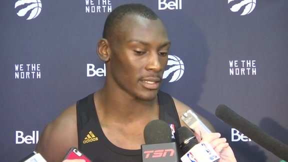 Raptors Training Camp: Bismack Biyombo - October 3, 2015