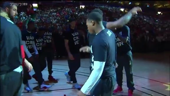 Raptors Pregame: Starting Lineup - October 4, 2015