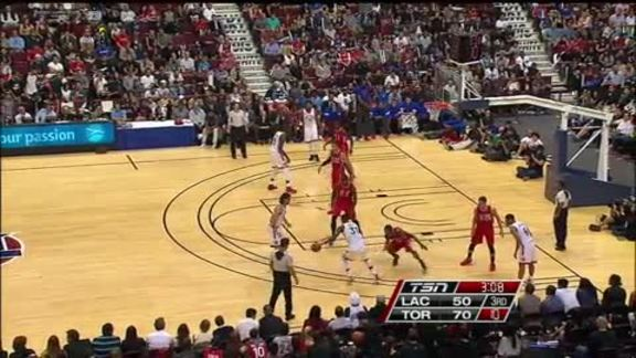 Raptors Highlights: Ross With The Cross - October 4, 2015