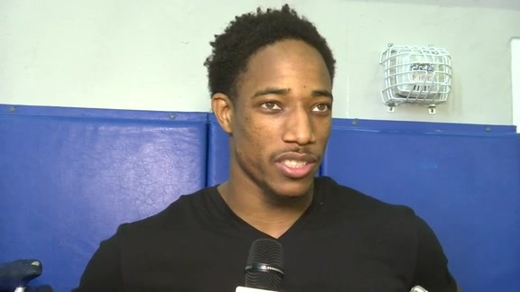 Raptors Preseason: DeMar DeRozan - October 7, 2015