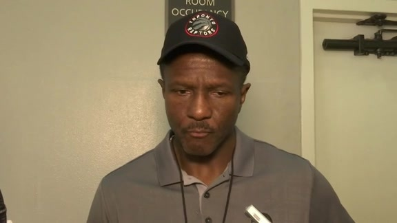 Raptors Shootaround: Dwane Casey - October 8, 2015