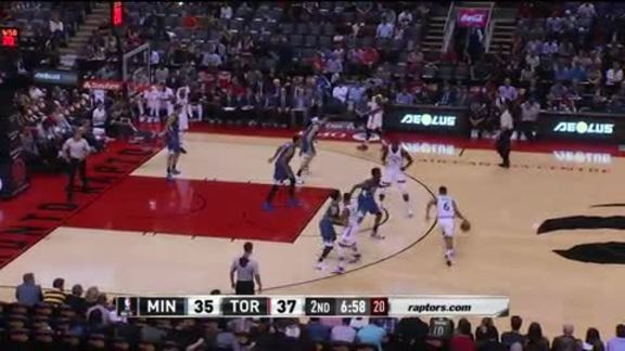 Game Highlights: Timberwolves vs. Raptors - October 12, 2015
