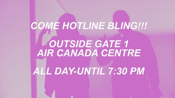 #DrakeNight Hotline Bling Booth