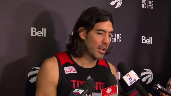 Raptors Shootaround: Luis Scola - November 25, 2015