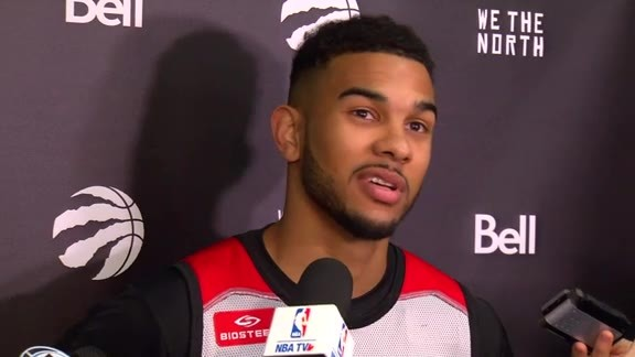 Raptors Shootaround: Cory Joseph - November 25, 2015