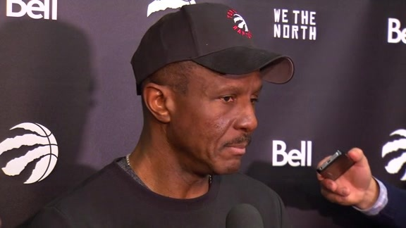 Raptors Shootaround: Dwane Casey - November 25, 2015