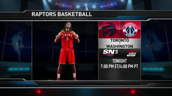 Raptors Game Preview: Toronto at Washington - November 28, 2015