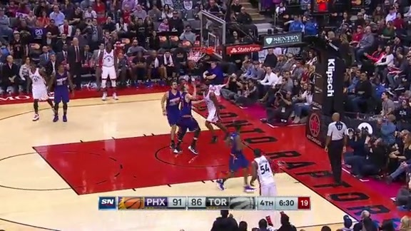 Raptors Highlights: JJ's Spin Move - November 29, 2015