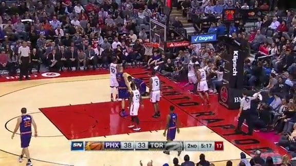 Game Highlights: Suns @ Raptors - November 29, 2015
