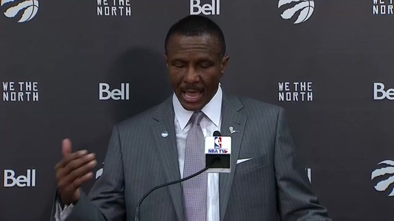 Raptors Post-Game: Dwane Casey - November 29, 2015
