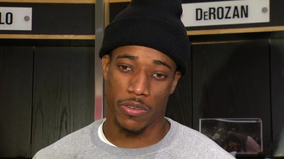 Raptors Post-Game: DeMar DeRozan - November 29, 2015