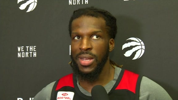 Raptors Practice: DeMarre Carroll - December 1, 2015