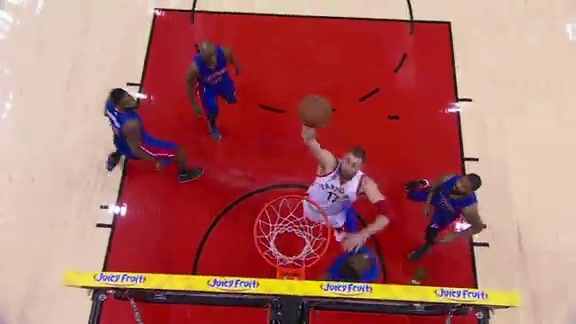 Raptors Highlights: Valanciunas Throwdown - January 30, 2016