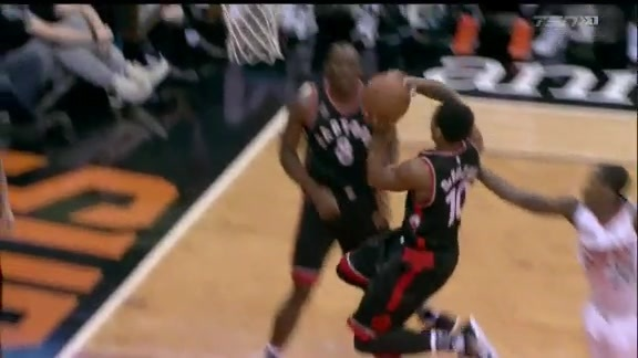 Raptors Highlights: DeRozan And-One - February 2, 2016