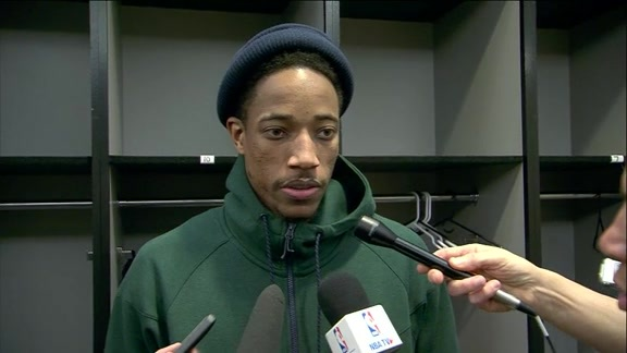 Raptors Post-Game: DeMar DeRozan - February 2, 2016