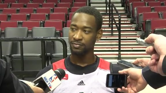 Raptors Shootaround: Terrence Ross - February 4, 2016