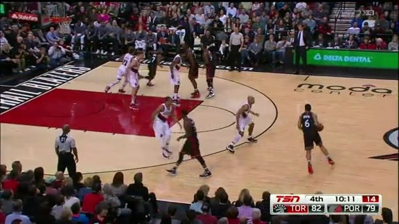 Game Highlights: Raptors @ Trail Blazers - February 4, 2016