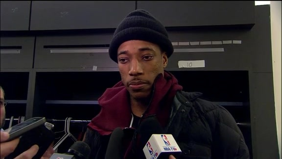 Raptors Post-Game: DeMar DeRozan - February 4, 2016