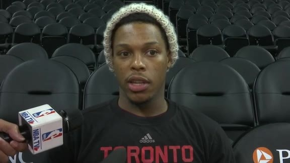 Raptors Shootaround: Kyle Lowry - February 8, 2016