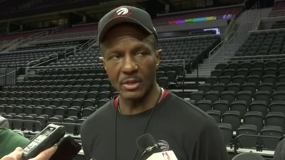 Raptors Shootaround: Dwane Casey - February 8, 2016