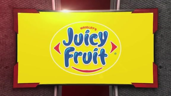 Juicy Fruit Sweet Touch: Play of the Game - February 8, 2016