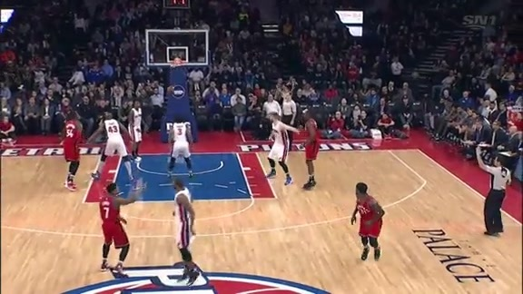 Game Highlights: Raptors @ Pistons - February 8, 2016
