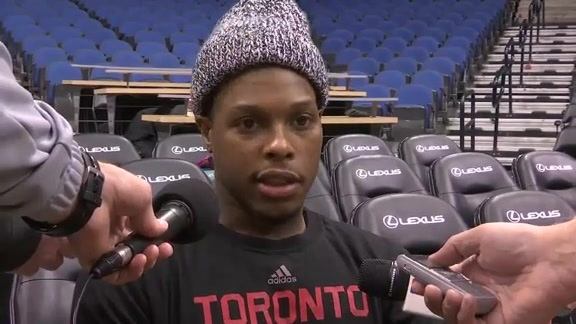 Raptors Shootaround: Kyle Lowry - February 10, 2016