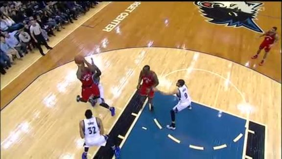 Raptors Highlights: DeRozan And-One - February 10, 2016