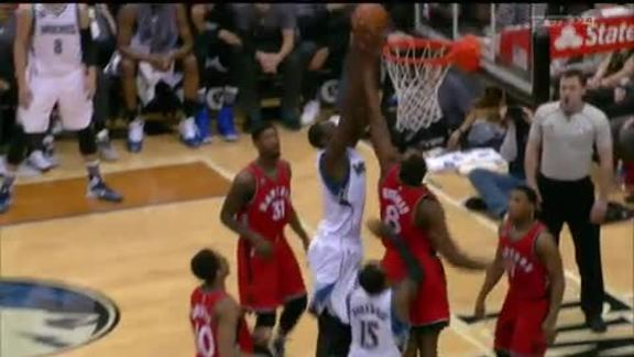Raptors Highlights: Biyombo's Block Party - February 10, 2016