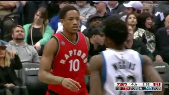 Game Highlights: Raptors @ Timberwolves - February 10, 2016