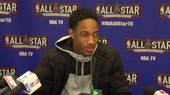 NBA All-Star: DeMar DeRozan - February 12, 2016