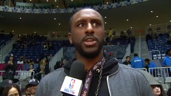 NBA All-Star Celebrity Game: Patrick Patterson - February 12, 2016