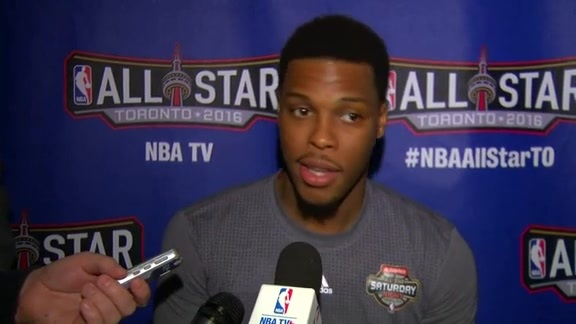 NBA All-Star Saturday: Kyle Lowry - February 13, 2016