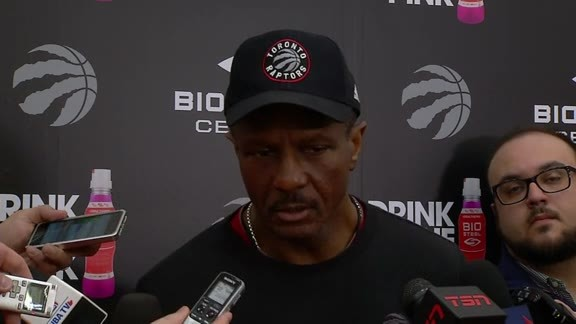 Raptors Practice: Dwane Casey - April 24, 2016