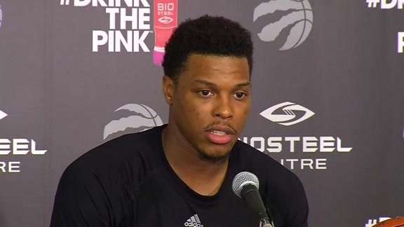 Raptors Practice: Kyle Lowry - April 25, 2016