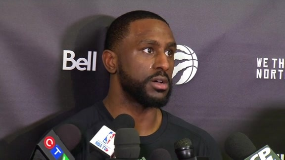 Raptors Shootaround: Patrick Patterson - April 26, 2016